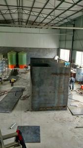 一體化淨水設備製作中