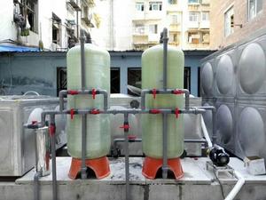 貴陽市中華北路水處理設備安裝調試完畢
