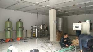 畢節市赫章縣鐵匠鄉每小時3噸水處理設備