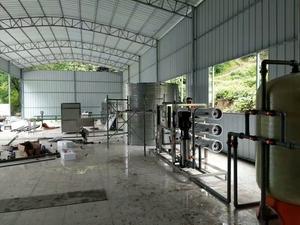 銅仁市鬆桃縣冷水溪鄉每小時6噸水處理設備