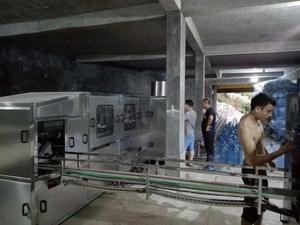 習水縣二裏鎮每小時300桶灌裝設備
